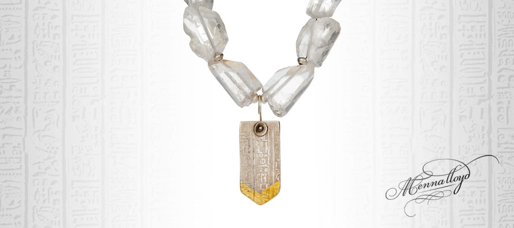 Isis Art Deco Necklace